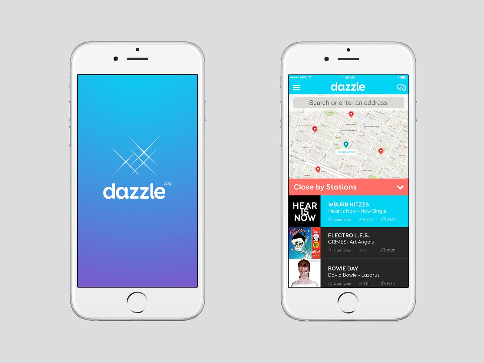 dazzle music app