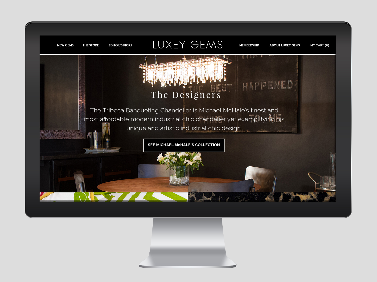 LUXEY GEMS ECOMMERCE WEBSITE