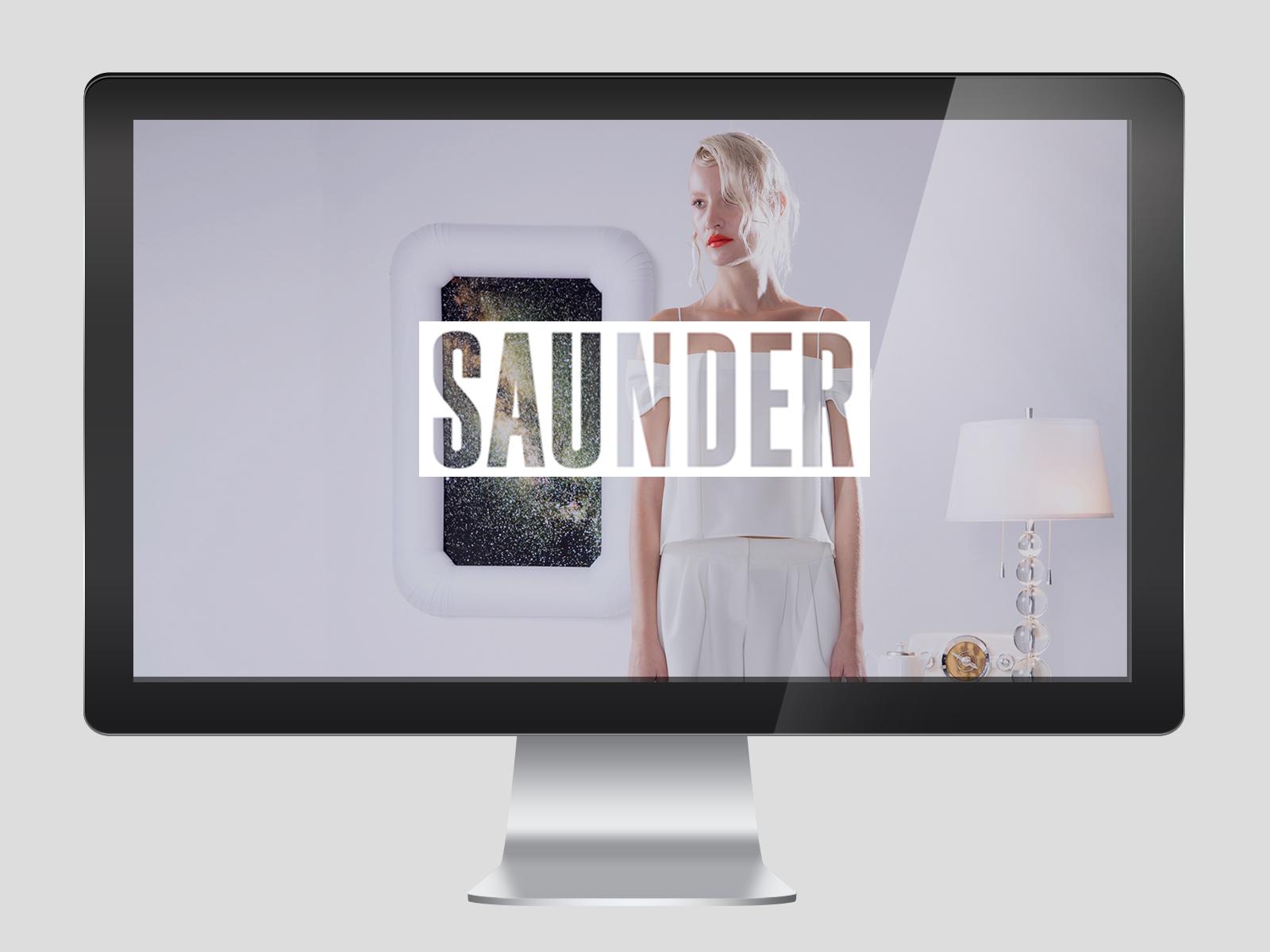 Saunder Fashion Designer Ecommerce website
