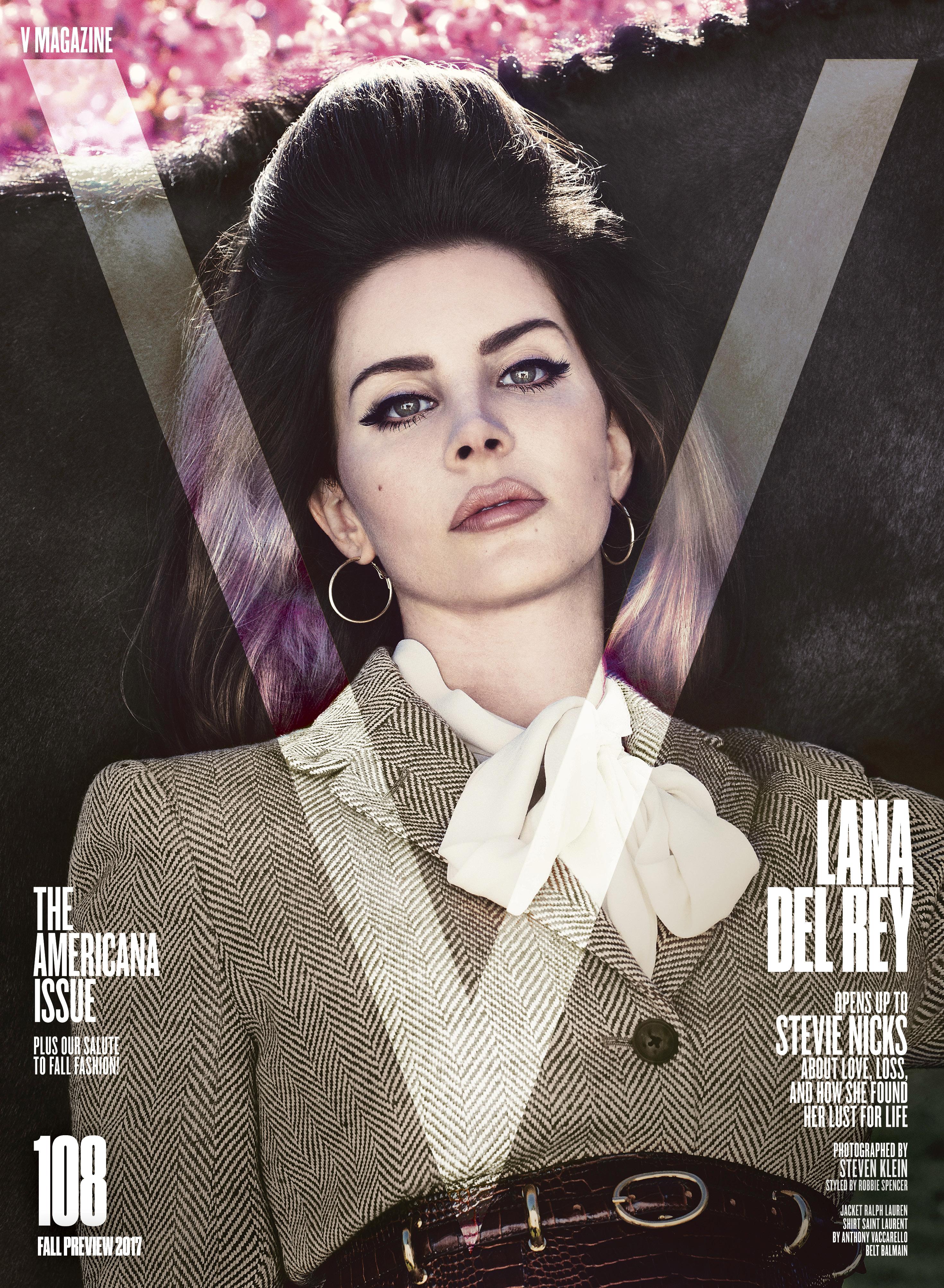 V magazine 108 Lana del Rey by Steven Klein